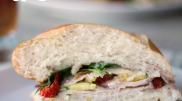 Sweet Onion Turkey Sandwich
