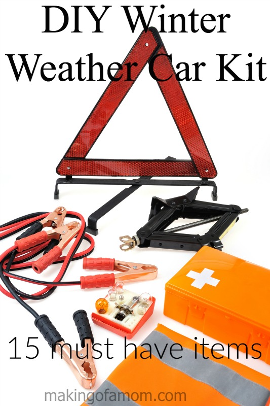 DIY Winter Weather Car Kit – 15 Must Have Items
