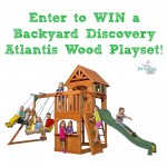 Swing into Spring Wooden Swing Set Giveaway