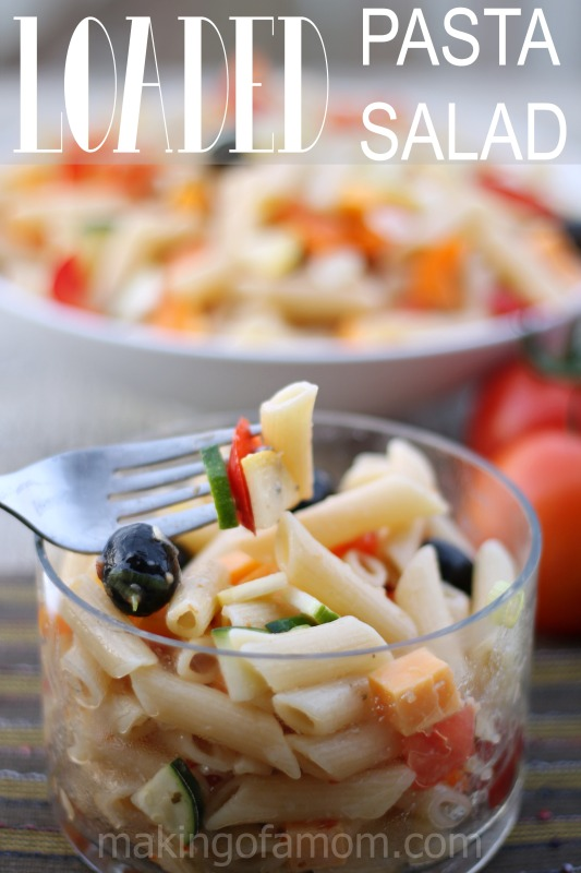 Loaded-Pasta-Salad-Table
