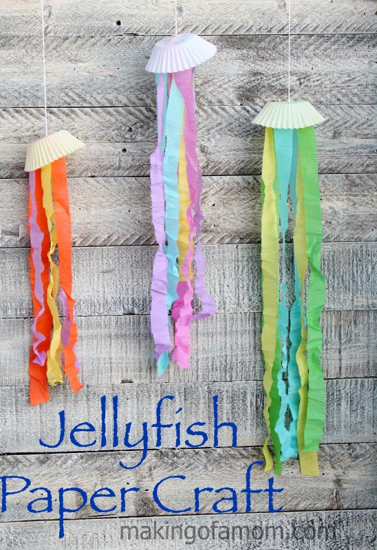 Jellyfish-Paper-Craft-blue