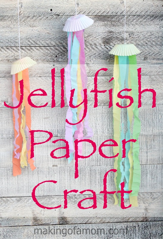 Jellyfish-Paper-Craft