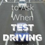 Questions to Ask When Test Driving a Vehicle
