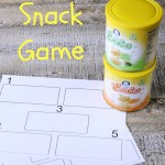 Toddler Snack Game