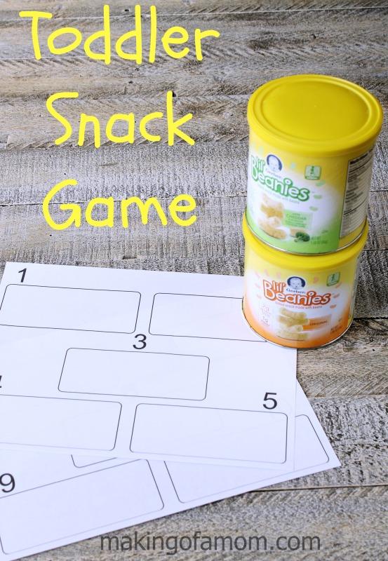 Toddler-Snack-Game