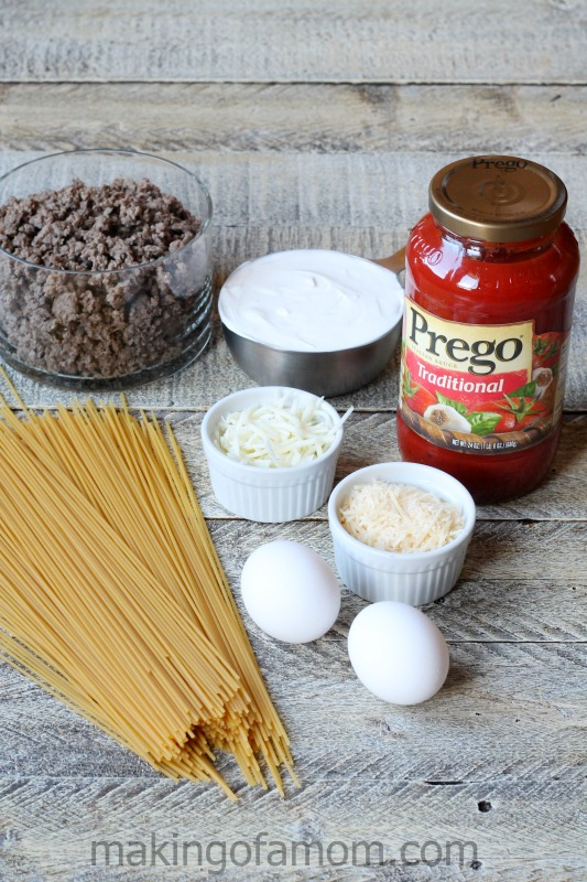 Baked-Spaghetti-Pie-Ingredients