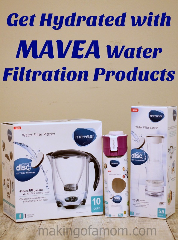 Get Hydrated with MAVEA Water Filtration Products + Giveaway