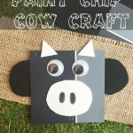 Paint Chip Cow Craft