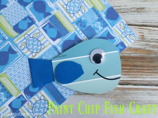 Paint-Chip Fish-Craft-Horizontal