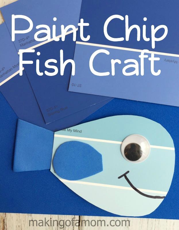 Paint-Chip-Fish-Craft