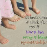 $25 Amex Gift Card Giveaway