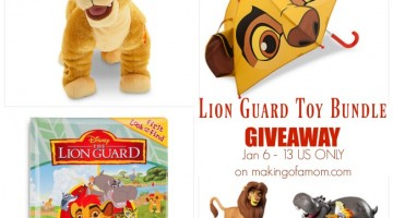 The Lion Guard Toy Bundle Giveaway