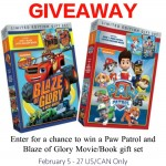 Paw Patrol/ Blaze of Glory Gift Sets Giveaway