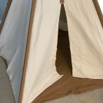 Cotton Canvas Teepee from Pacific Play Tents