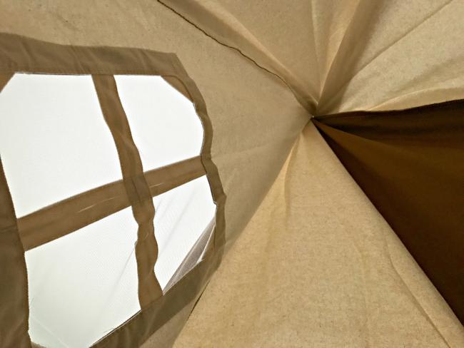 cotton canvas teepee