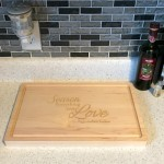 An Engraved Cutting Board Makes the Ideal Gift
