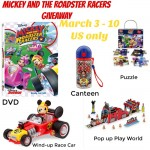 Mickey and the Roadster Racers Giveaway