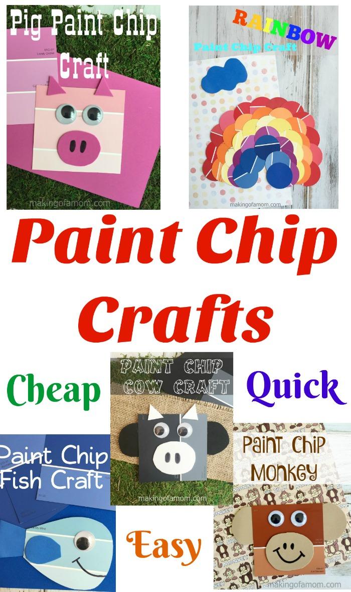 Paint Chip Craft Hero