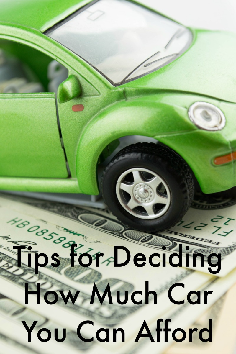 Deciding How Much Car You Can Afford