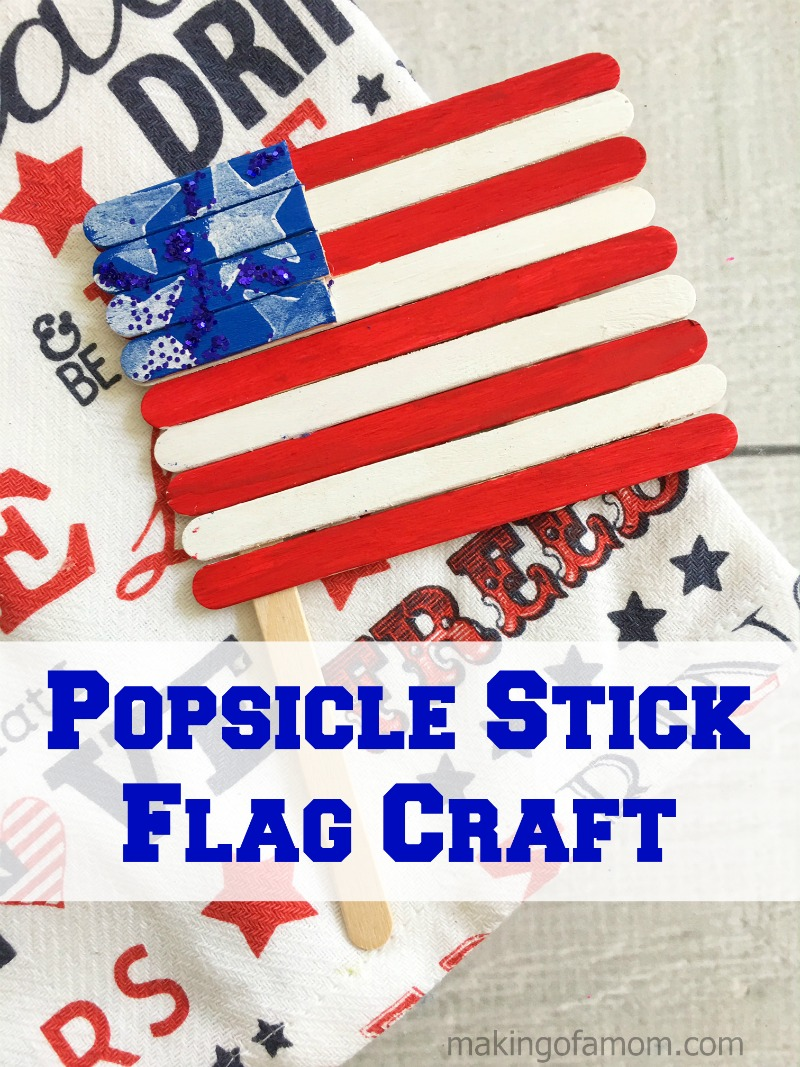 Popsicle-Stick-Flag-Craft