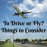 To Drive or Fly? Things to Consider