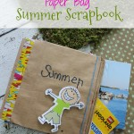 Paper Bag Summer Scrapbook