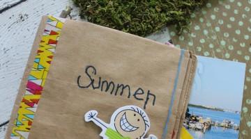 Paper Bag Summer Scrapbook