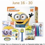 Despicable Me 3 Fun Box Giveaway