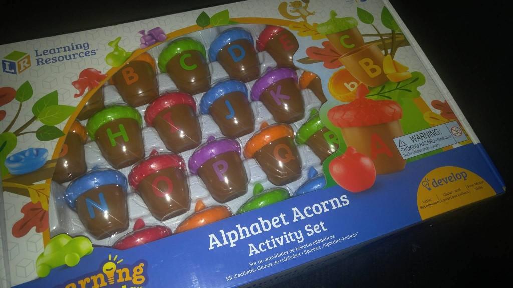 Alphabet Acorns