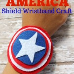 Captain America Shield Wristband