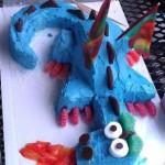 Dragon Birthday Cake!