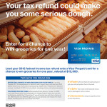 Quick Tax Refund with Visa Prepaid Cards