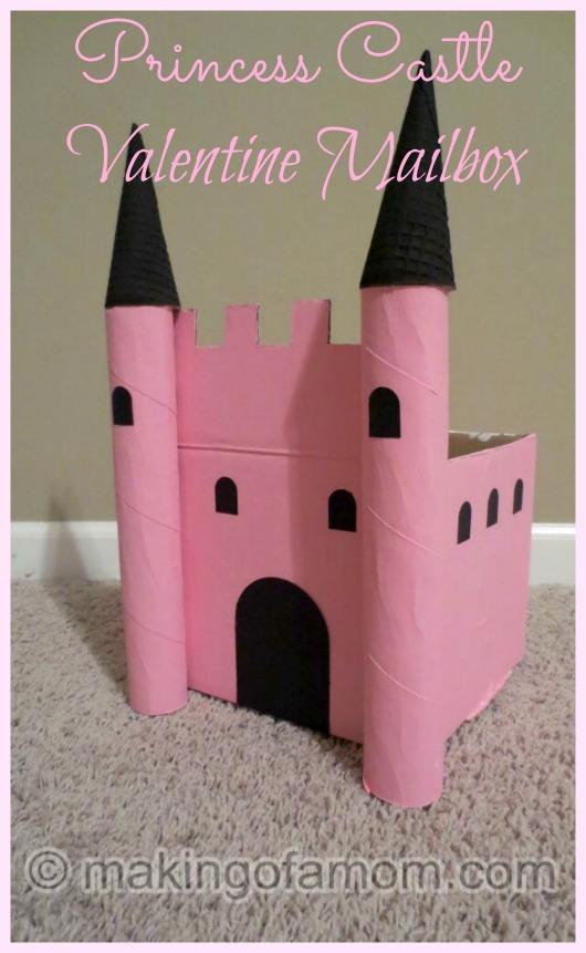 Princess-Castle-Valentine-Mailbox