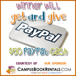 Campus Books Mission Giveaway