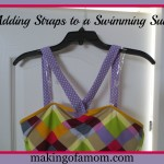 Adding Straps to a Swimming Suit