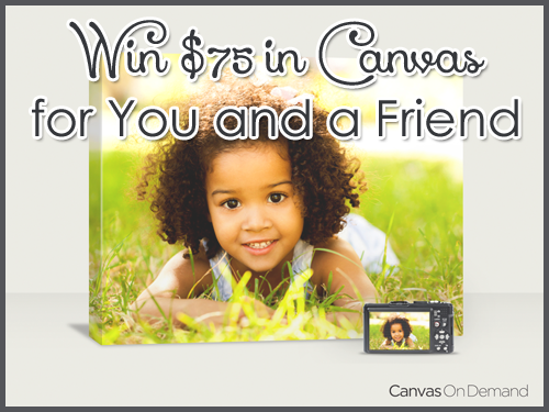 Canvas on Demand Prize