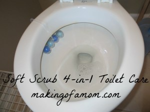 Soft Scrub 4-in-1- Toilet Care