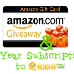 Kids Email Amazon Gift Card #MissionGiveaway