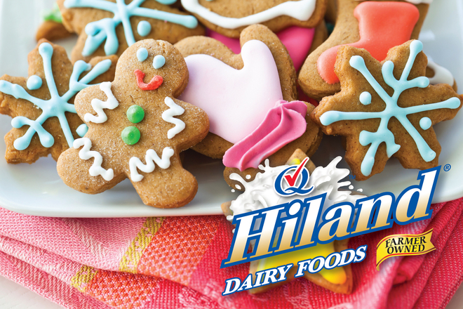 Cookies with Hiland Logo