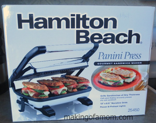 cooler weather requires warm sandwiches hamilton beach panini press. Black Bedroom Furniture Sets. Home Design Ideas