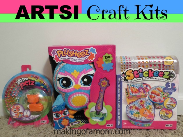 Artsi craft kits great gifts for girls for Craft presents for girls