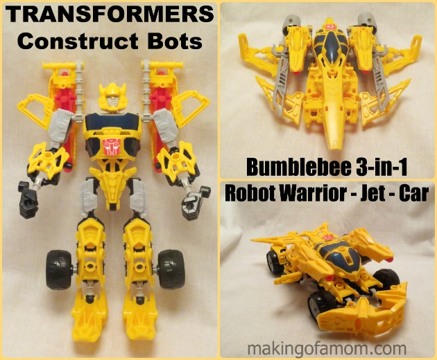 TRANFORMERS-Construct-Bots-Bumbleebee