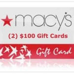 Coupon Winner Macy's Gift Cards #MissionGiveaway