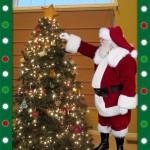 iCaughtSanta.com Hanging Christmas Ornaments!
