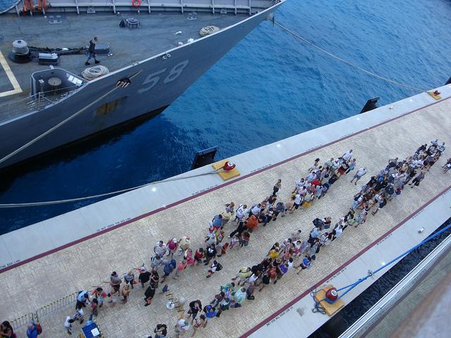 cruise dock