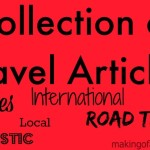 Collection of Useful Travel Articles