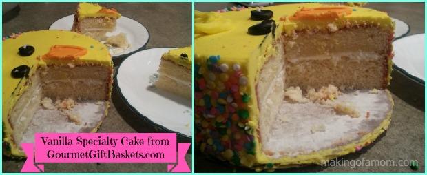 Vanilla-Chick-Cake