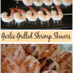Garlic Grilled Shrimp Skewers