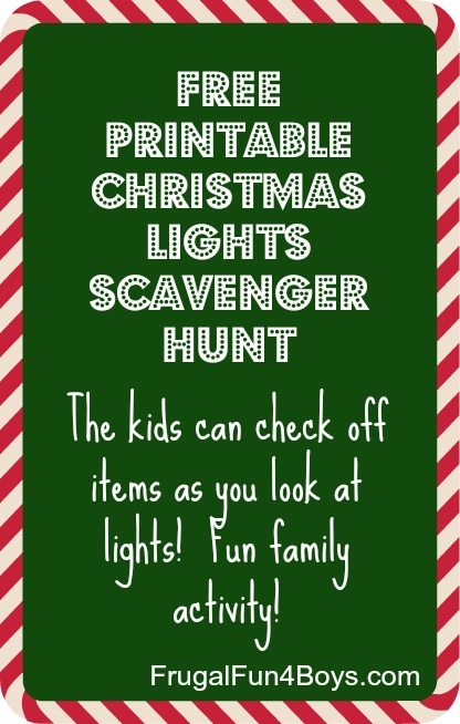 christmas-lights printable