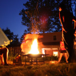 Have a Campout in Your Own Backyard